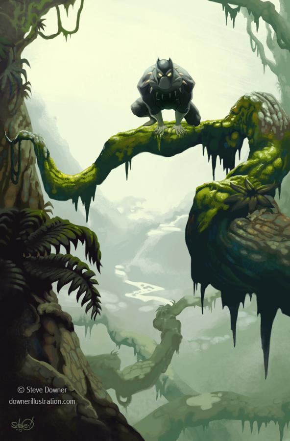 A.07.Frazetta Jungle